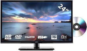 HKC 24C2NBD - Televisor LED con Reproductor de DVD
