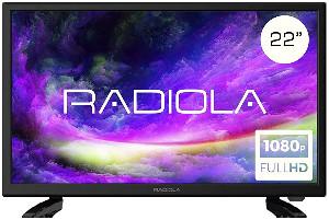 Radiola LD22100K - televisor LED 22 Pulgadas Full HD 12V