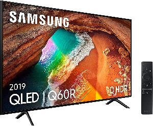 """Samsung QLED 4K 2019 49Q60R - Smart TV de 49"""" con tecnología Apple"""