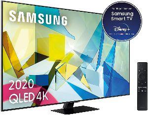"""Samsung QLED 4K 65Q80T, Smart TV de 65"""" - Mejor valorado por los usuarios"""