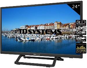 TD Systems K24DLX10H - Televisor HDMI, VGA, USB 24 Pulgadas