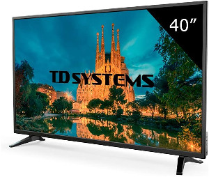 TD Systems K40DLM7F - Televisor LED de 40 pulgadas
