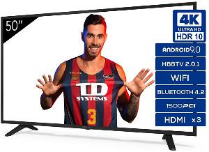 "TD Systems K50DLJ11US – Smart TV 50"""