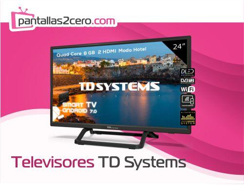Los mejores televisores TD Systems del 2021