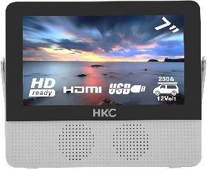 HKC P7H6 - Mini TV portátil HD de 7 Pulgadas