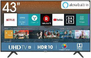 Hisense H43BE7000, Smart TV 4K Ultra HD