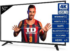 TD Systems K50DLJ11US - Televisiones Smart TV 50 Pulgadas 4K Android