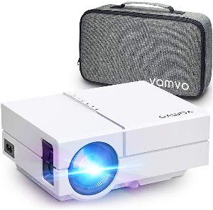 Vamvo Proyector L4500 Full HD – Brillo de 5.500 lux